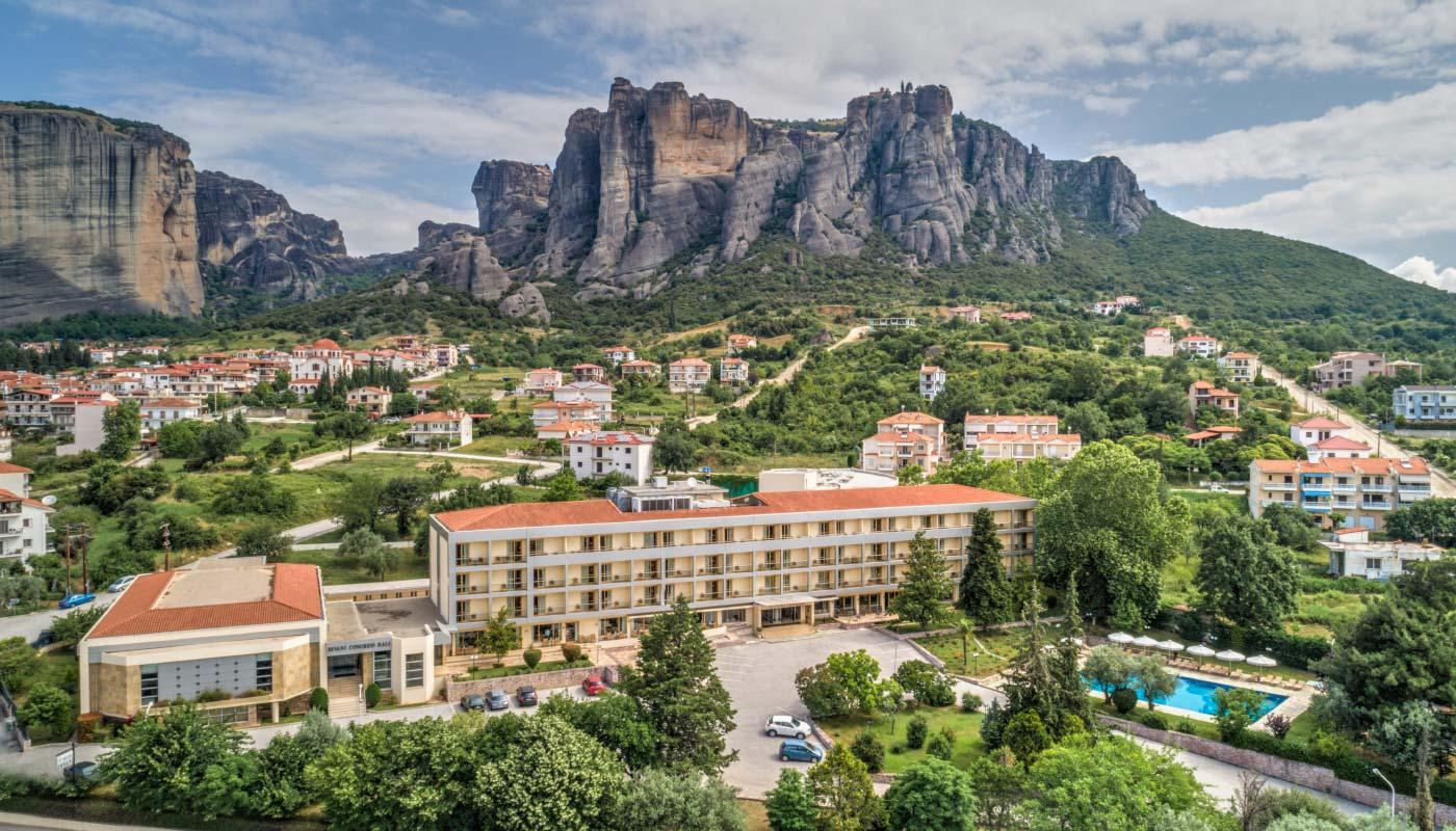 Divani Meteora Hotel Welcome