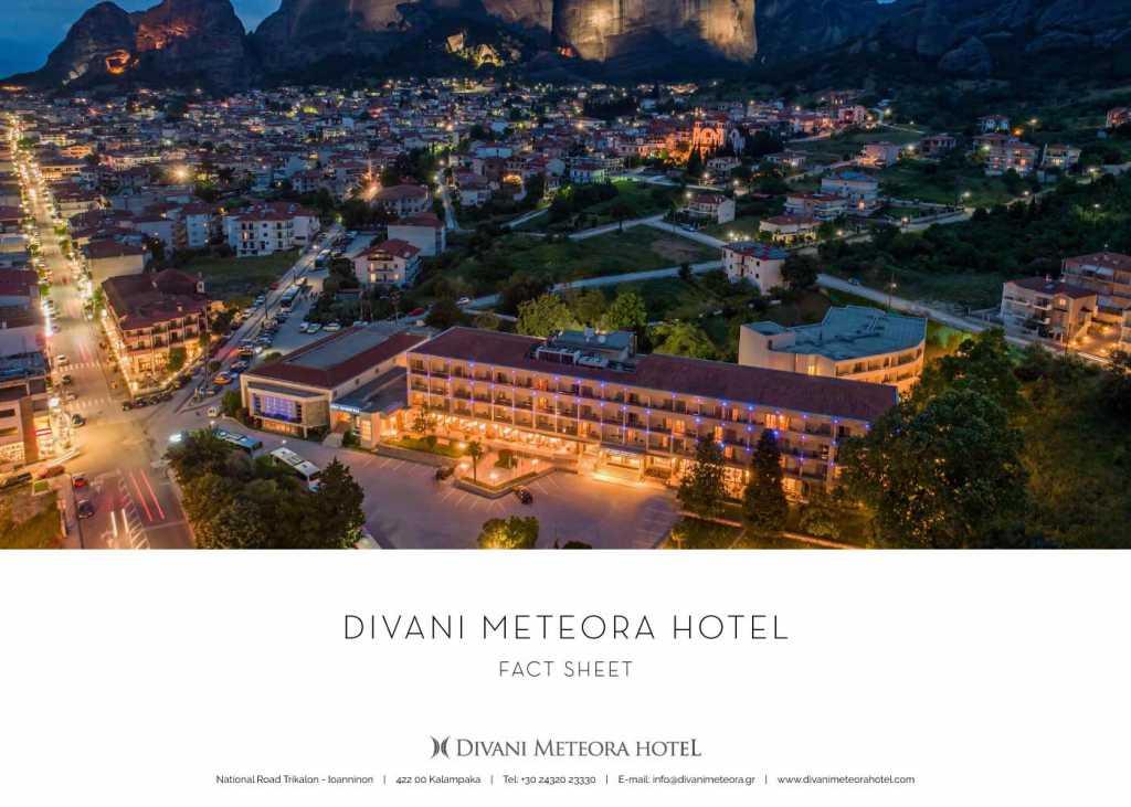 Divani Meteora Hotel - Fact Sheet